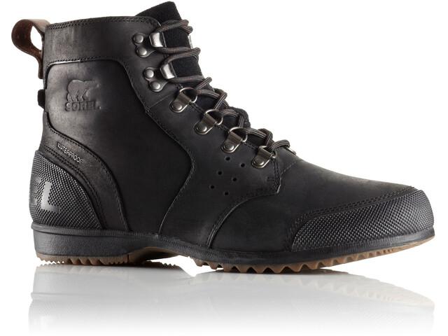 Sorel M's Ankeny Mid Hiker Boots Black, Tobacco